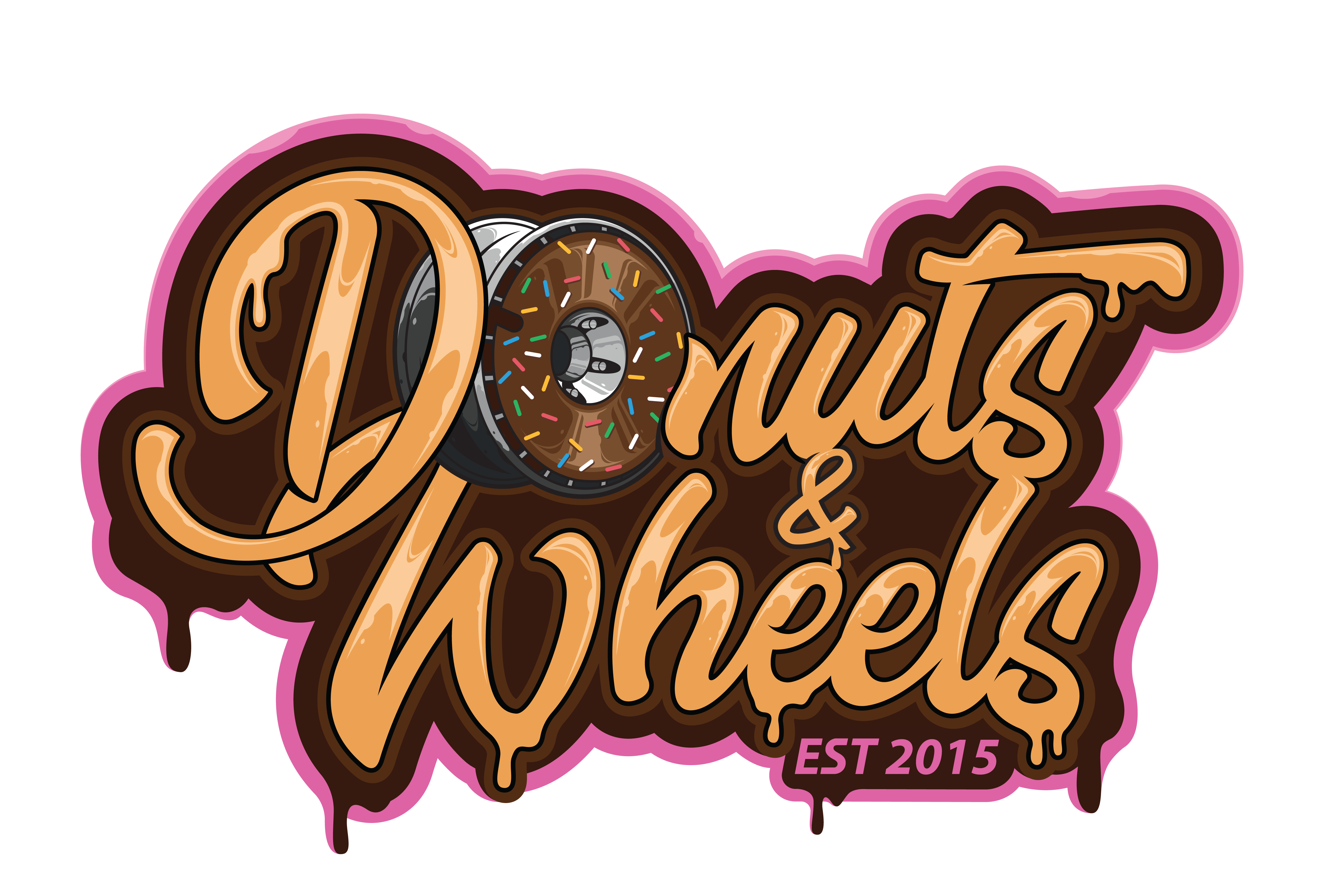 Donuts & Wheels official Logo
